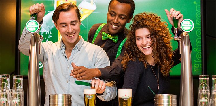Необычные музеи Амстердама: Heineken Experience.