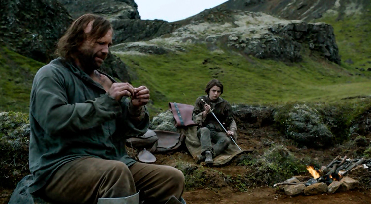Места съемок Игры престолов в Исландии. Национальный парк Тингведлир.