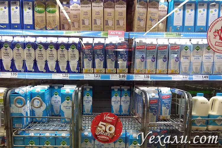 Стоимость продуктов в Голландии
