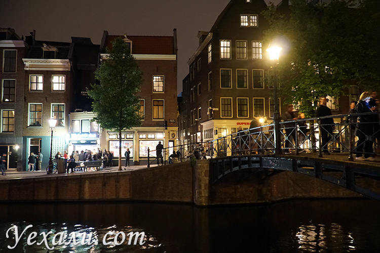 Квартал красных фонарей в Голландии, фото и отзывы