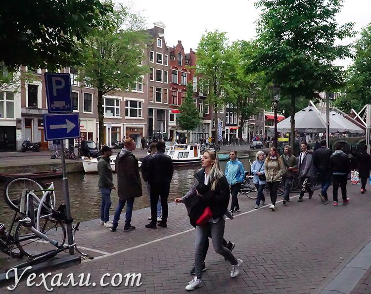 Район красных фонарей в Амстердаме, фото и отзывы