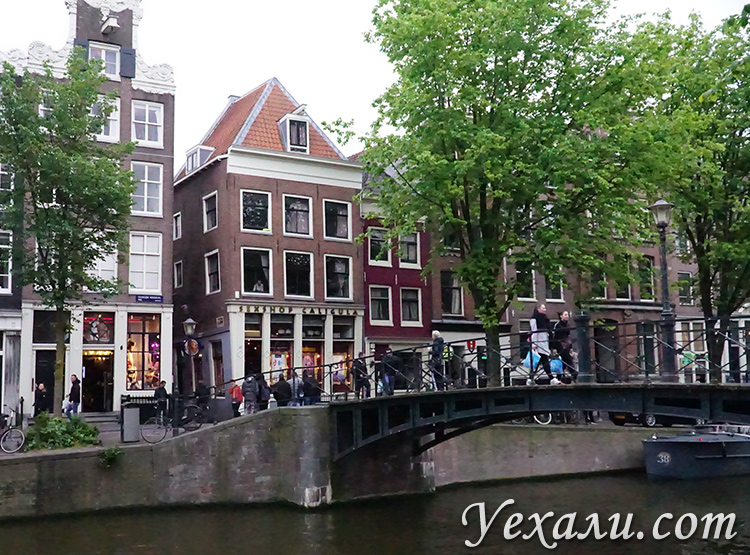 Фотографии секс-шопов в Амстердаме