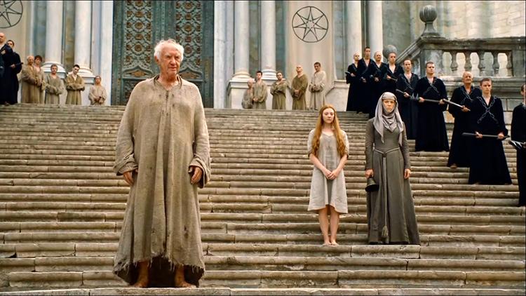 Где снимали Игру престолов в Испании. На фото: Септа Бейлора, она же Кафедральный собор Жироны.