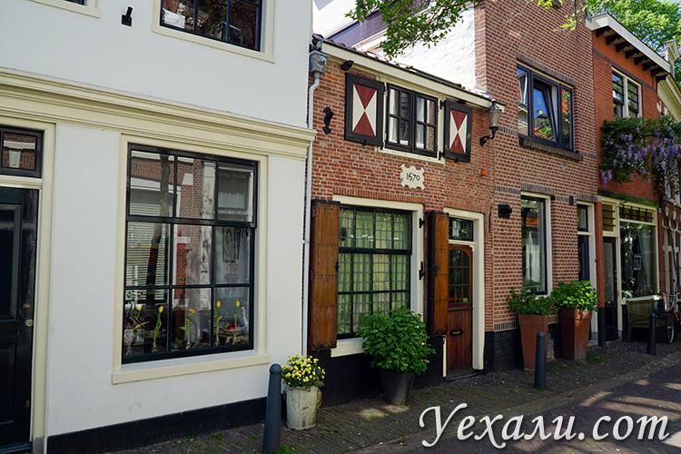 Типичный дом в Голландии