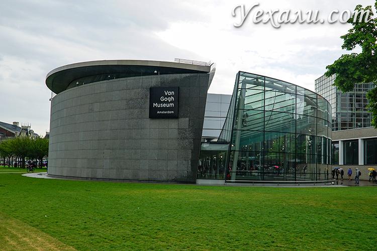 Самые интересные музеи Амстердама: музей Ван Гога.