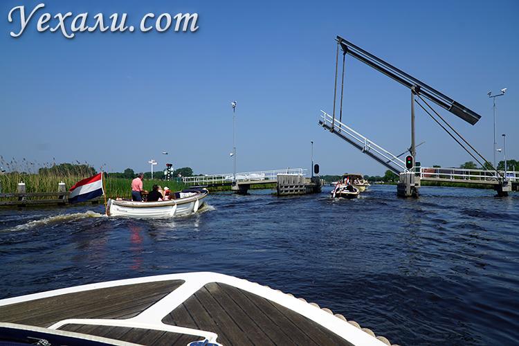 Разводные мосты в Голландии, фото