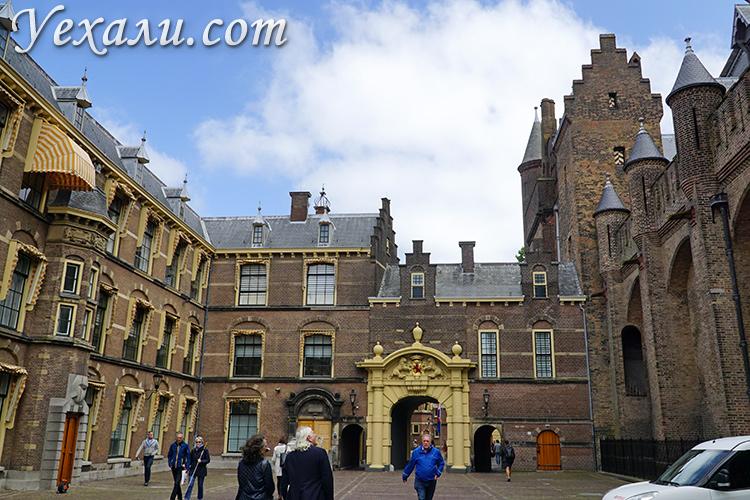 На фото: Бинненхоф, Гаага, Голландия.