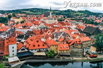 Лучшие экскурсии в Праге на русском языке: Чешский Крумлов.