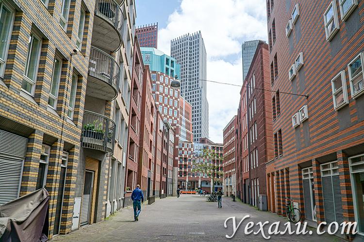Главные достопримечательности Гааги, Голландия: квартал Де Резидент.