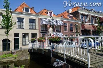 Куда съездить из Амстердама на 1 день: Делфт.