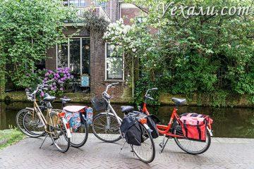 На фото: город Делфт, Нидерланды.