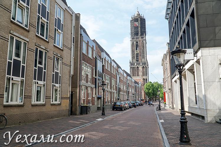 Утрехт, Нидерланды. Колокольня Домского собора.