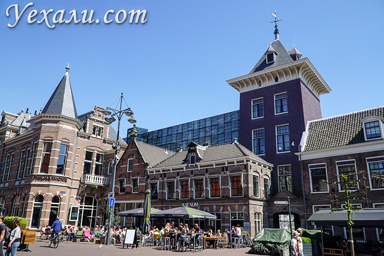 Фото Харлема, Голландия.