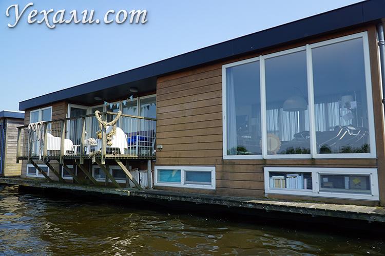 Фото домов на воде в городах Голландии
