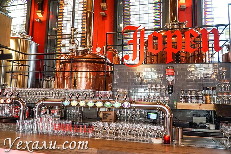Куда сходить и что посмотреть в Харлеме, Нидерланды: церковь-пивоварня Jopenkerk.