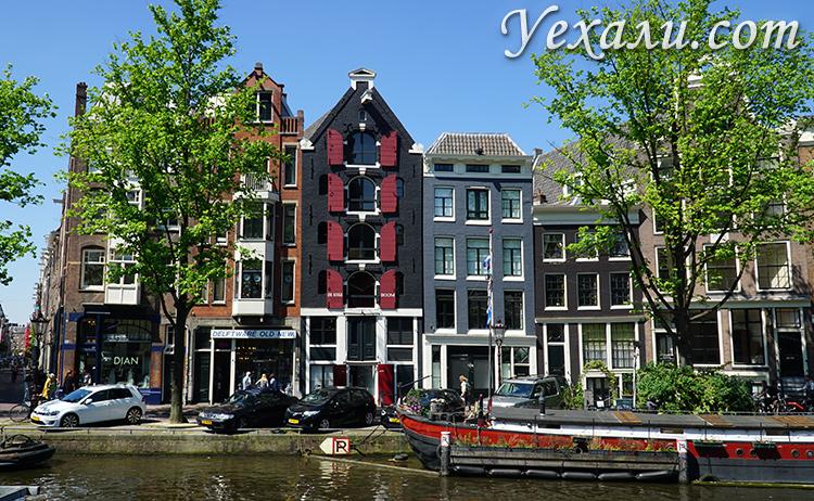 Самые красивые места в Амстердаме: район Йордан.