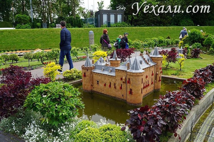 Парк миниатюрных домов и улиц Голландии