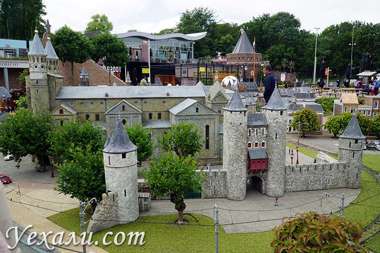 Отзывы о парке миниатюр Мадуродам в Гааге