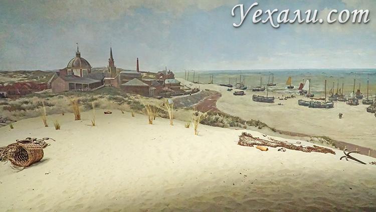 Главные достопримечательности Гааги, Нидерланды: панорама Месдаха.