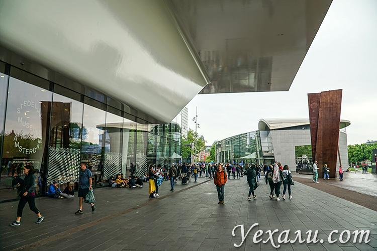 Что посмотреть в Амстердаме самостоятельно за 3 дня: Музей Ван Гога и Современного искусства.