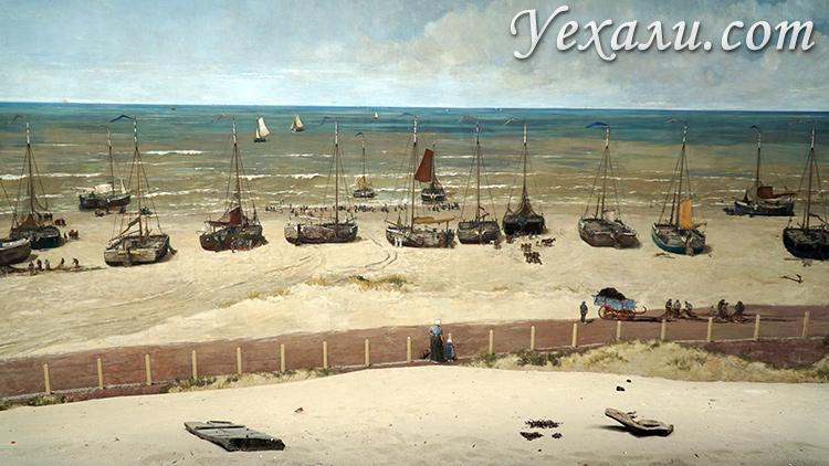 Интересное место в Гааге - панорама Месдах