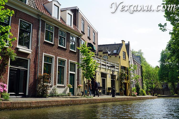 Красивые фото города Утрехт с воды