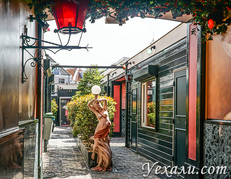 Куда сходить и что посмотреть в Харлеме, Нидерланды: квартал красных фонарей.