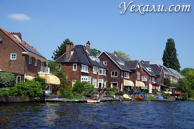 Каналы и реки в городах Нидерландов