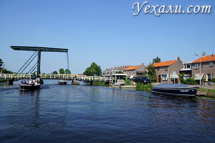 Каналы в городах Голландии