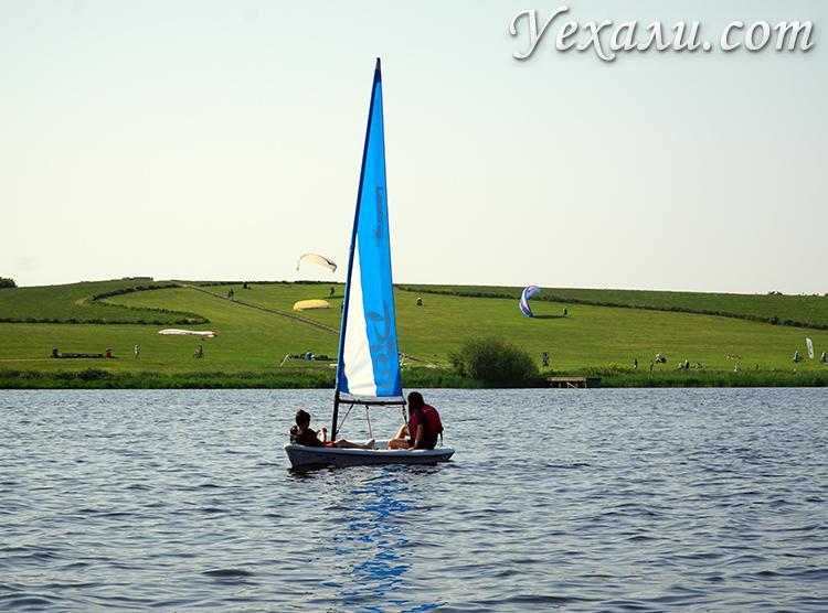 Фотографии каналов в Голландии