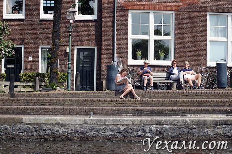 Фотографии каналов в Нидерландах
