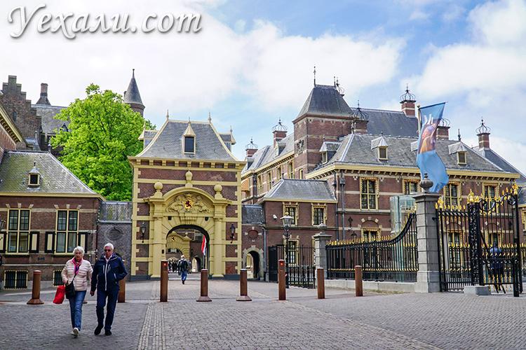 Гаага, Нидерланды. Центр города.