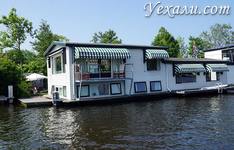 Каналы в Нидерландах, фото
