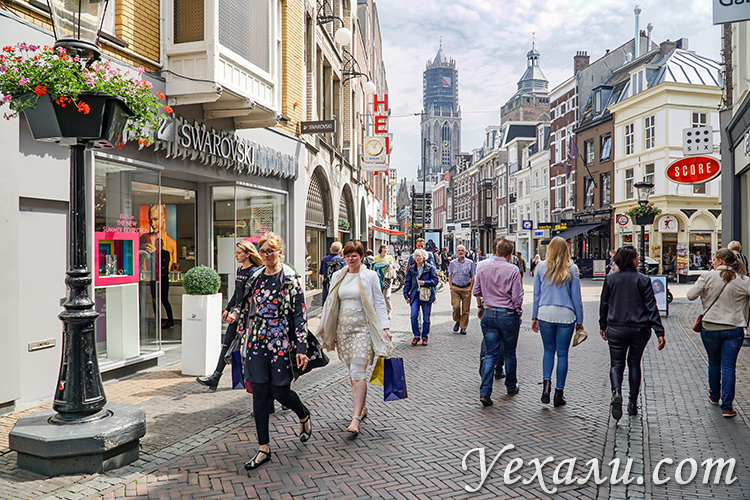На фото: улочки города Утрехт в Голландии.