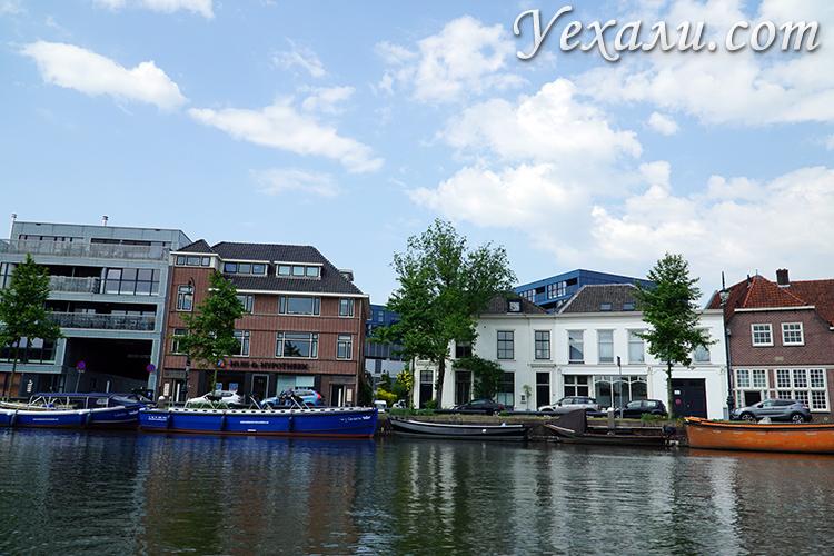Каналы Утрехта в Голландии