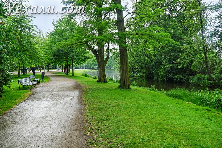 Самые красивые места в Амстердаме: парк Вондела.