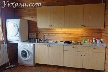 Кухня в кемпинге в Исландии