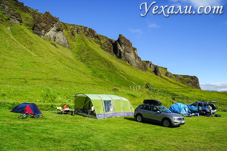 Цены в Исландии на отели и кемпинги.