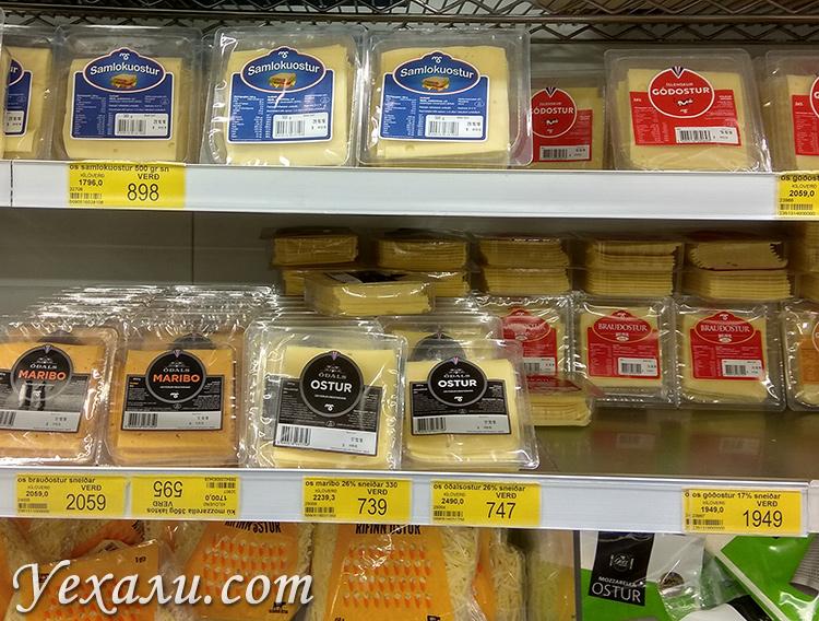 Цены на продукты в самых дешевых магазинах Исландии