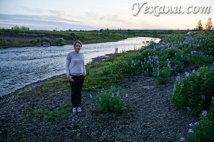 """Маршрут """"Золотое кольцо Исландии"""". Кемпинг Fludir camping."""