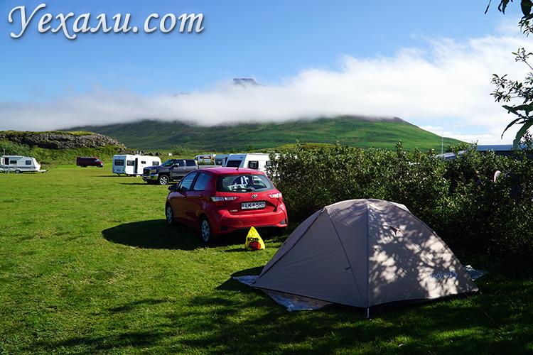 Наша палатка для Исландии