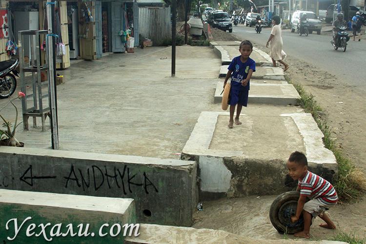 Фото обычных городов Индонезии