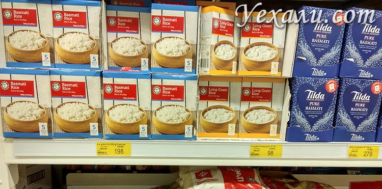 Стоимость продуктов в магазинах Исландии