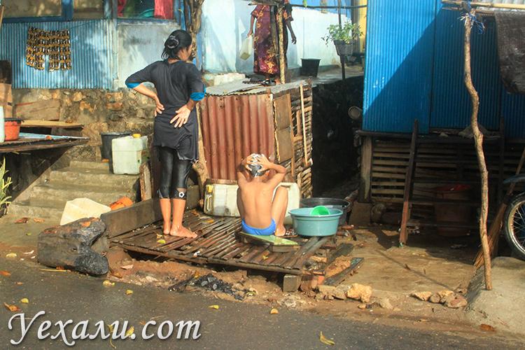 Жизнь простых людей в Индонезии