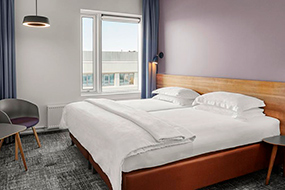 Отели Рейкьявика (Исландия) с отличным соотношением цена - качество. CenterHotel Midgardur.