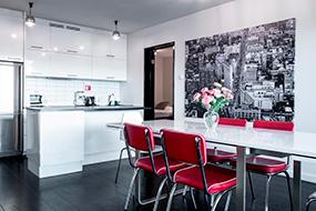 Отели в центре Рейкьявика с кухней. Central Premium Luxury Apartments.