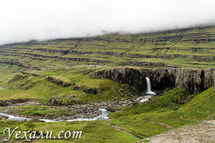 Водопад Фолалдафосс, Исландия.