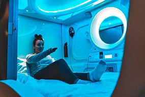 Лучшие хостелы в Рейкьявике, Исландия. Цены и отзывы. Galaxy Pod Hostel.