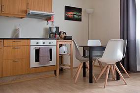 Отели в Рейкьявике с кухней. Kerno Apartments.