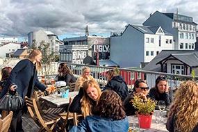 Хостелы Рейкьявика, Исландия. Loft HI Hostel.